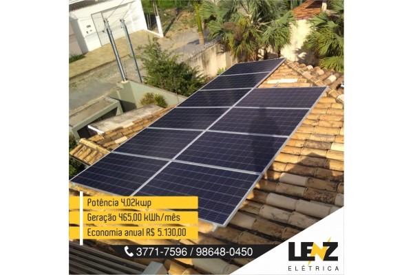 SISTEMA DE ENERGIA SOLAR FOTOVOLTAICA