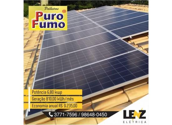 SISTEMA DE ENERGIA SOLAR FOTOVOLTAICA 6,80 KWP