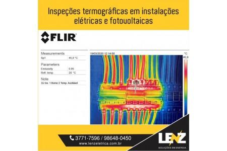 Inspeções Termográficas em instalações elétricas e fotovoltaicas