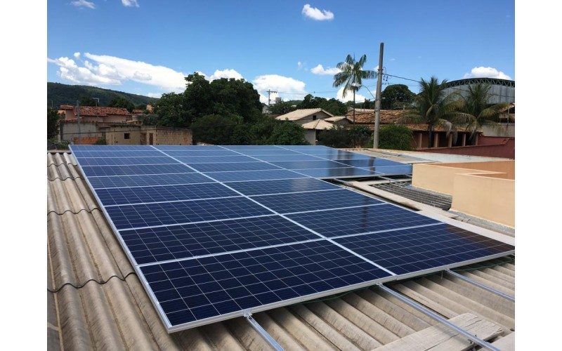SISTEMA DE ENERGIA SOLAR FOTOVOLTAICO 9,1 KWP